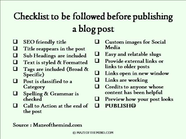 checklist-to-be-followed-before-publishing-a-blog